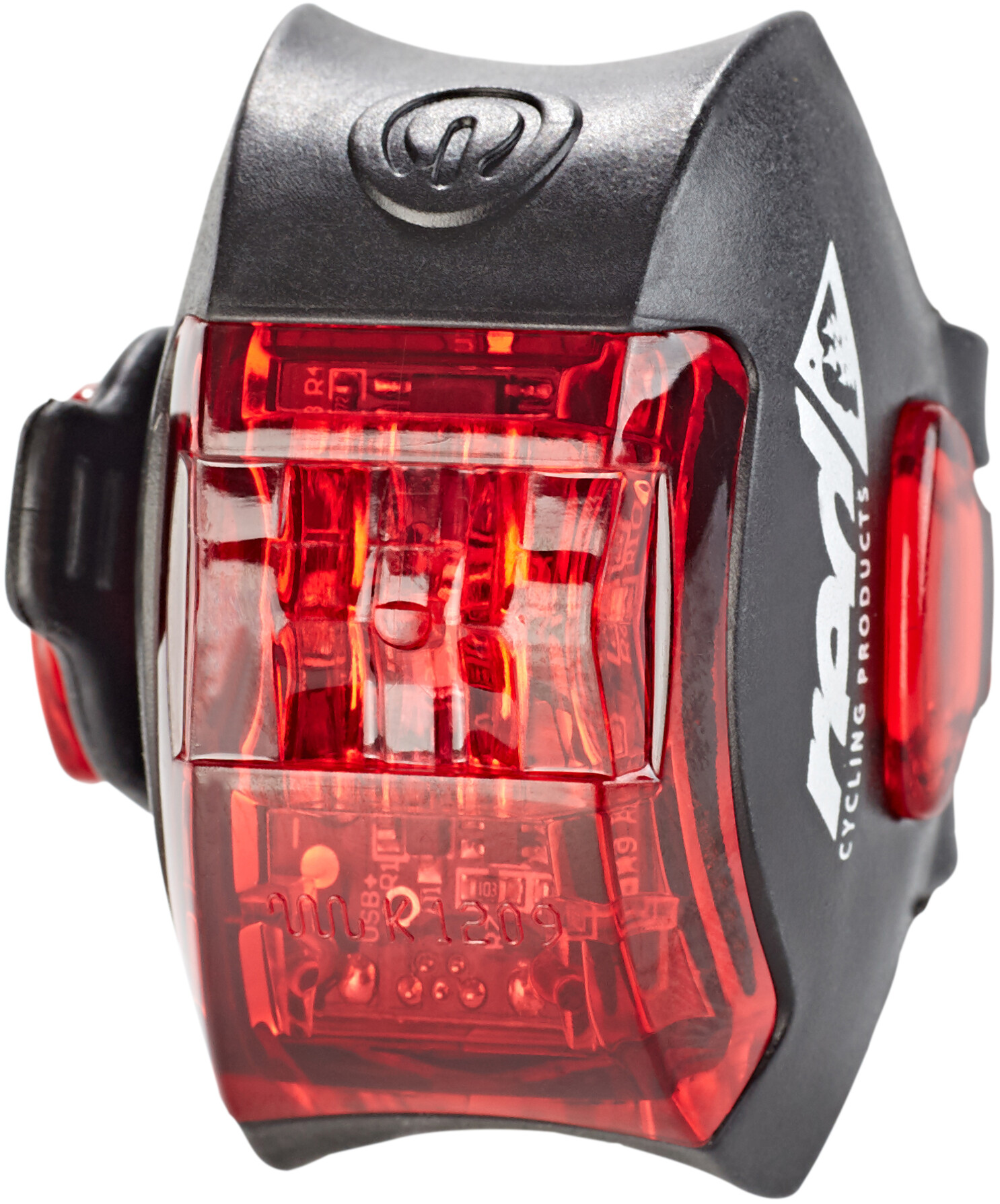 Red Cycling Products Power LED USB Rear Light Bike Light black